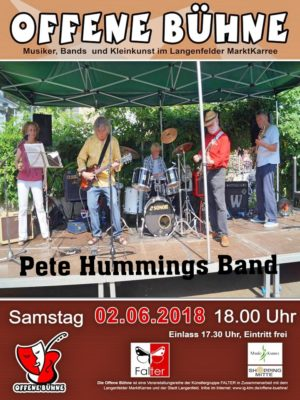 Pete Hummings Band im Juni 2018